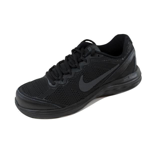 Nike Women's Dual Fusion Run 3 Black/Black-Anthracite 653594-020 Size 6