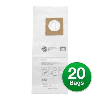 EnviroCare Replacement Vacuum Bag for Hoover CH54113 / CH54115 Vacuums - 2 Pack