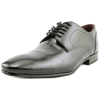 Ted Baker Markuss Men Round Toe Leather Black Oxford
