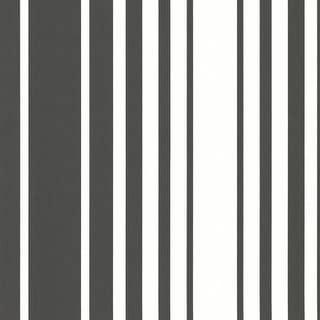 Brewster 2533-20226 Lewitt Black Barcode Stripe Wallpaper