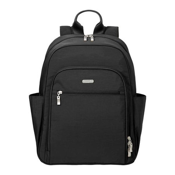 adc86c5bba01 Shop baggallini Women's SLB166 Essential RFID Laptop Backpack Black ...