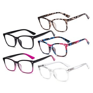 Link to Eyekepper 5 Pack Stylish Reading Glasses for Women RT1801 Similar Items in Eyeglasses