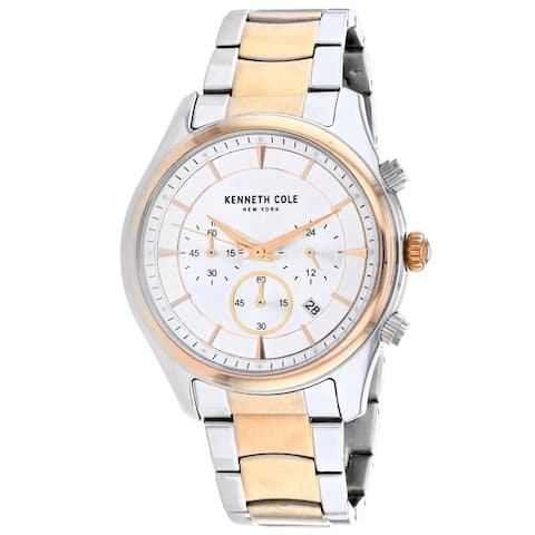 Kenneth Cole Men's Classic Silver Dial Watch - KC50946003 - One Size