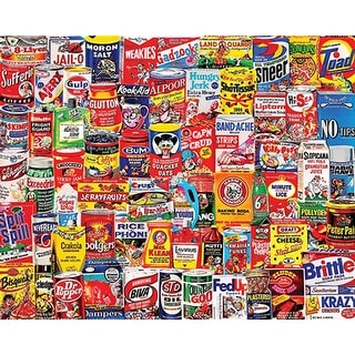 "Wacky Packages - Jigsaw Puzzle 1000 Pieces 24""X30"""