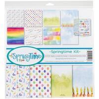 "Reminisce Collection Kit 12""X12""-Springtime"
