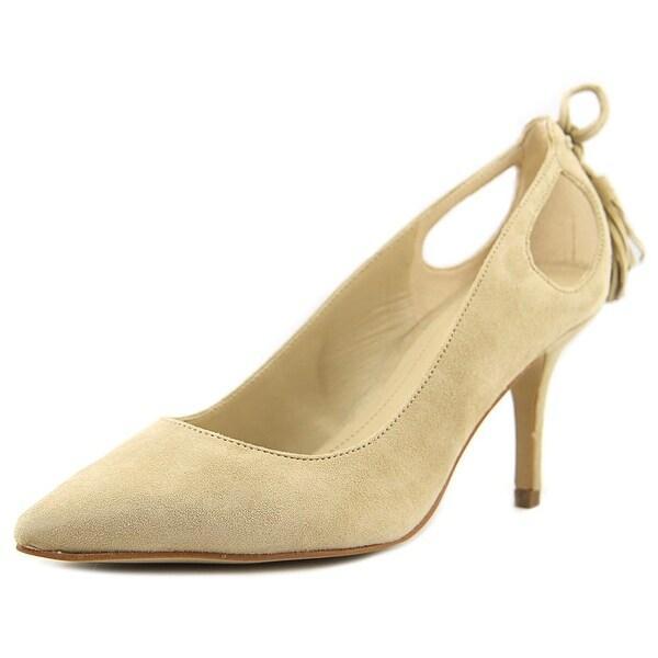 Marc Fisher Teagin Women Pointed Toe Suede Heels