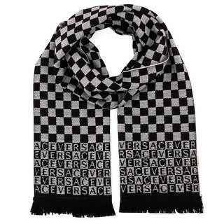 Versace IT00628 100% Wool Mens Scarf