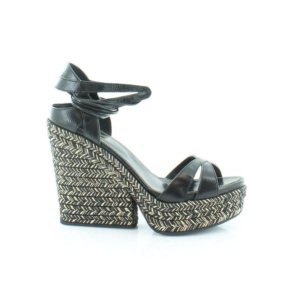 Sergio Rossi Bilbao Women/'s Sandals Black