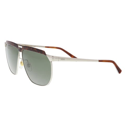 25861c64ac7d5 MCM MCM113S 724 Gold Tortoise Modified Rectangle Sunglasses - 61-9-145