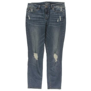 Lucky Brand Womens Lolita Skinny Skinny Jeans Destroyed High-Rise
