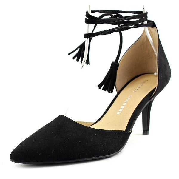 Chinese Laundry Z- Olinda Women Pointed Toe Synthetic Black Heels