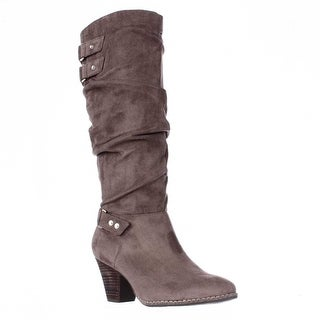 Dr. Scholls Covet Slouch Mid-Calf Boots, Stucco