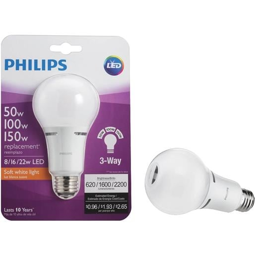 Philips Lighting Co 50/100/150W Led 3Wy Bulb 472548 Unit EACH - Free Shipping On Orders Over $45 - Overstock.com - 23757645  sc 1 st  Overstock.com & Philips Lighting Co 50/100/150W Led 3Wy Bulb 472548 Unit: EACH ...