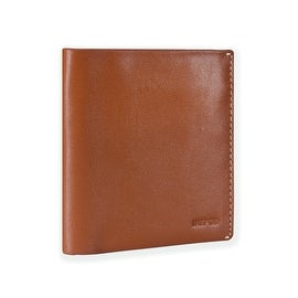 Ikepod Slim Carry Wallet (Tan of 7 Colour) [Italy Made // Top Leather] [RFID Blocking and Slim Stitching!]