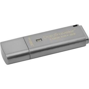 Kingston Dtlpg3/32Gb 32Gb Datatraveler Locker+ G3 Usb 3.1 Gen 1 Flash Drive