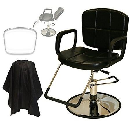 LCL Beauty Reclining Hydraulic Cutting and Shampoo Salon Chair
