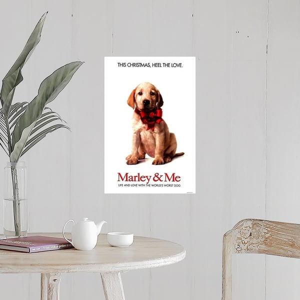 Shop Black Friday Deals On Marley And Me 2008 Poster Print Overstock 24127987