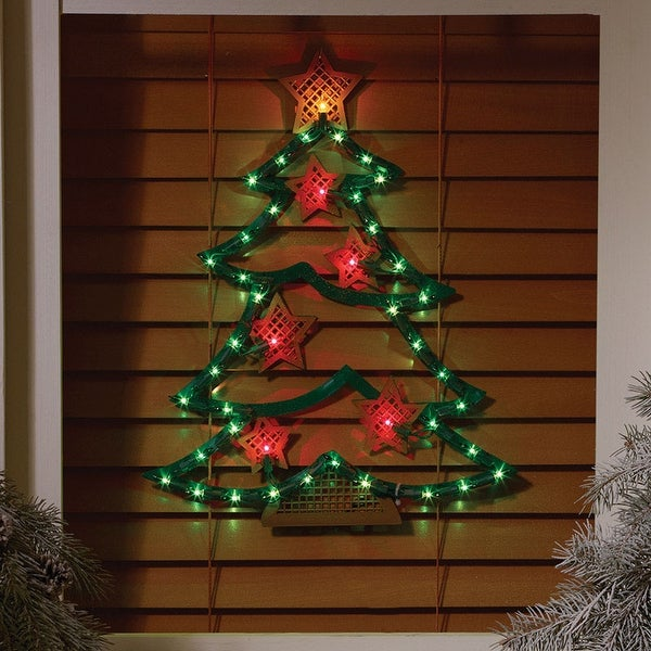 Shop Impact Innovations 95122 Christmas Tree Red Green
