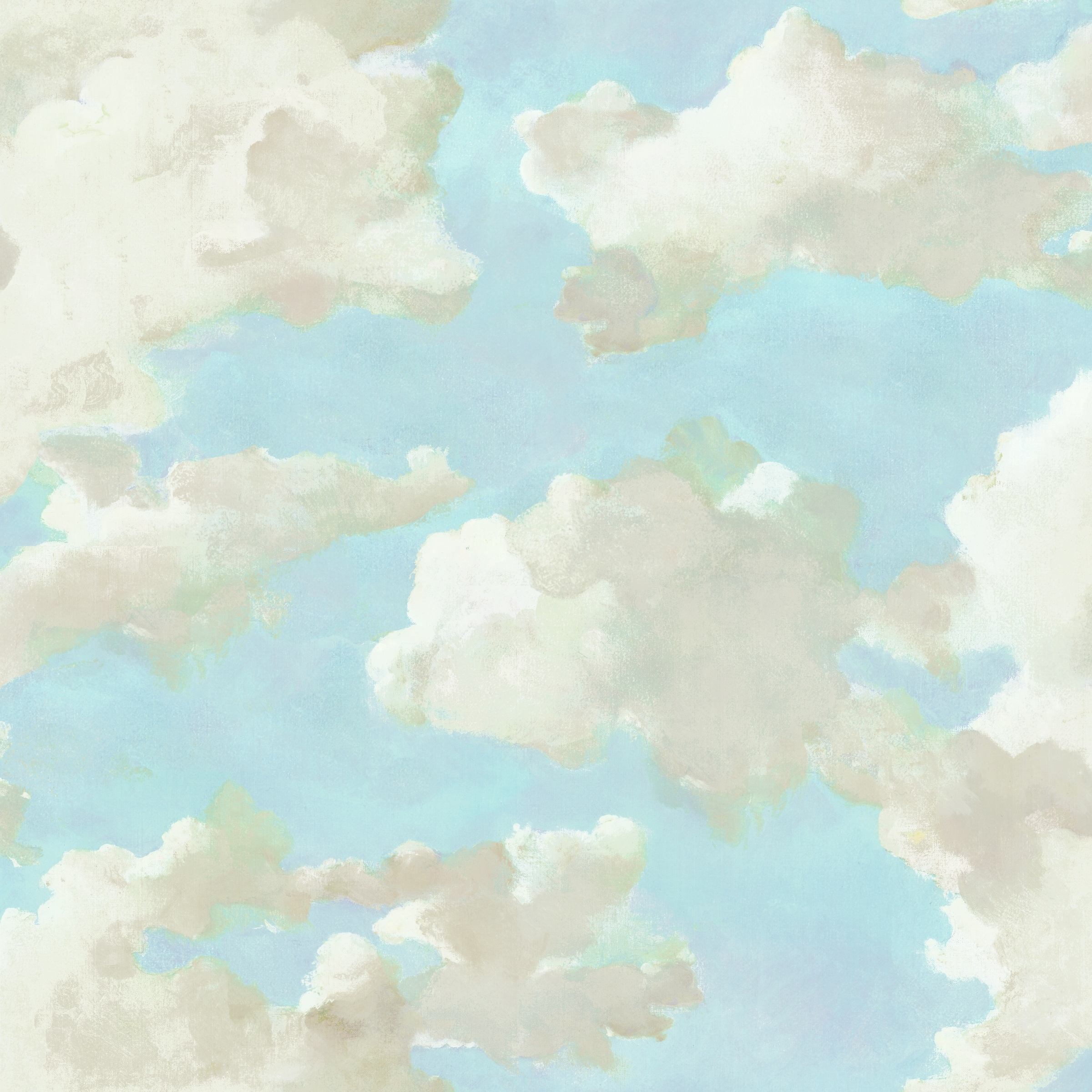 Shop Blythe Clouds On Canvas Peel And Stick Wallpaper On Sale Overstock 31797186