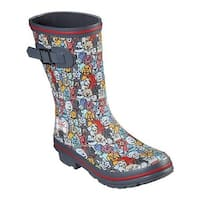 Skechers Women's BOBS Rain Check April Showers Boot Multi