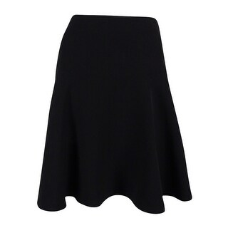 Tommy Hilfiger Women's Textured A-Line Skirt - Black