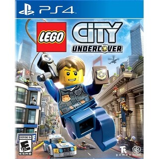 Warner Brothers 1000639088 Lego City: Undercover Action/Adventure Game - Ps4