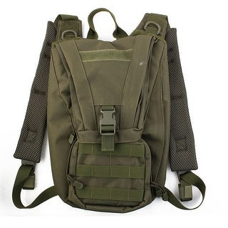 Mountain Biking Cycling Hiking Hydration Bladder Backpack Pack Army Green