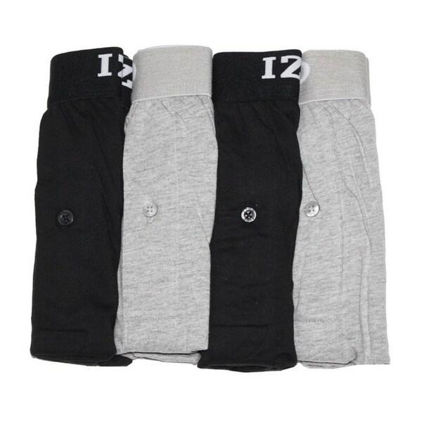 029d06d043f81 Shop Izod Mens  4 Pack Knit Boxers Underwear - navy grey stripe red ...