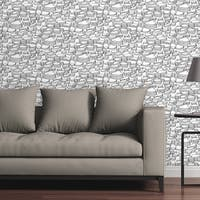 Circle Art Group Removable Wallpaper Tile - Canyon Topography