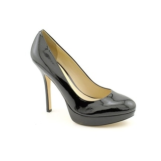 Joan & David Flipp Women Open Toe Patent Leather Platform Heel