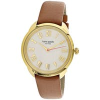 Kate Spade Women's Eldridge KSW1063 Brown Gold Tone Stainles-Steel Fashion Watch