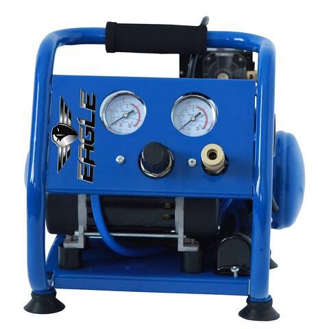 Eagle EA-2000 Silent Series Air Compressor, 125 psi MAX psi Hot Dog