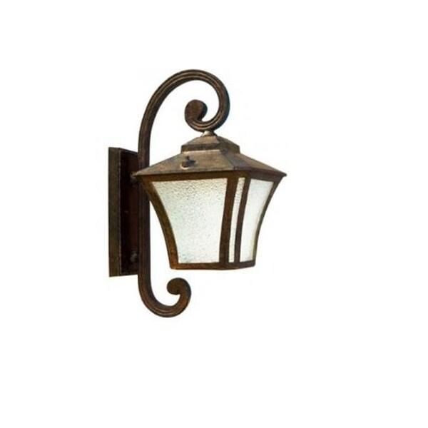 Dabmar Lighting Small Wall Fixture Led 16w 85 265v Bronze