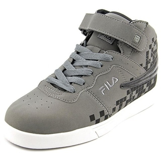 Fila Vulc 13 Digital Fade Youth  Round Toe Synthetic Gray Sneakers