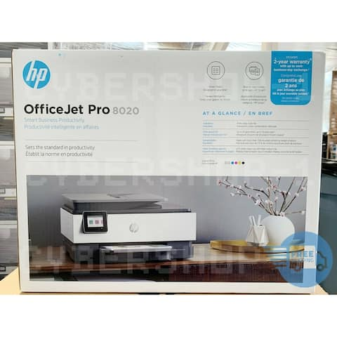 HP OfficeJet Pro 8020 All-in-One Printer (1KR62A) - white