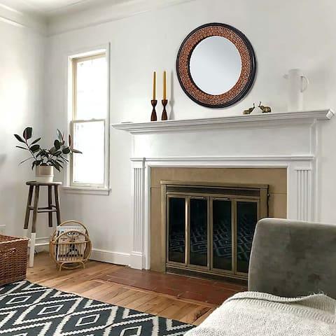 MDF frame wall mirror