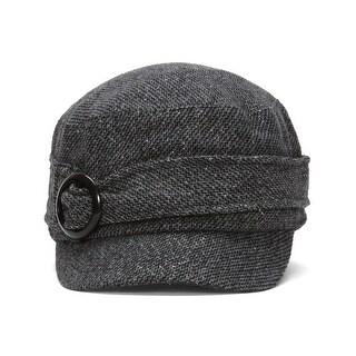 Ladies Poly-Wool Stylish Cadet Cap w/ Buckle