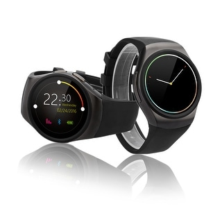 Indigi® A18 iOS & Android Compatible SmartWatch & Phone - Android Watch OS + Pedometer + Heart Monitor + Sleep Monitor