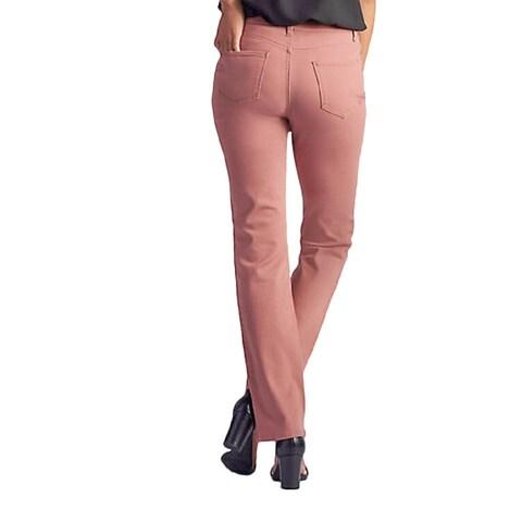 "Lee Womens Platinum Label ""Gwen"" Classic Fit Straight Leg Pant"