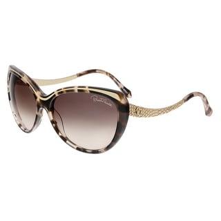 Roberto Cavalli RC898S HEZE 52F Havana Cateye Sunglasses