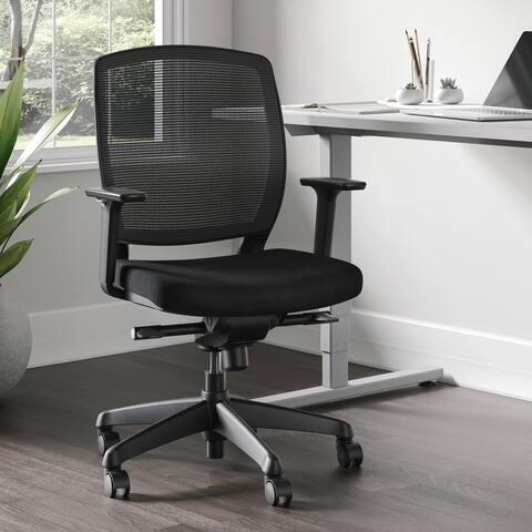 Vora Ergonomic Mesh Task Chair with Padded Seat