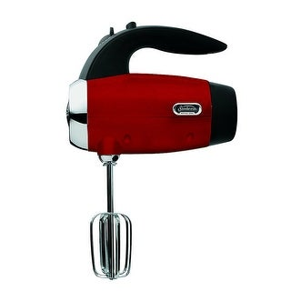 Sunbeam 2550-000 Heritage Hand Mixer Candy Apple Red