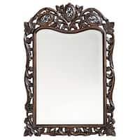 "Howard Elliott 4085 St. Agustine 29"" x 20"" French Brown Mirror"