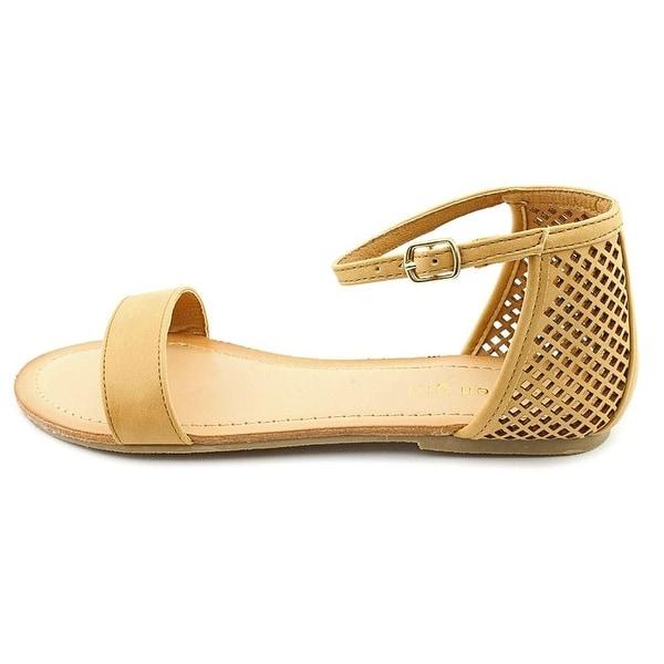 Madden Girl Womens Znapshot Open Toe Casual Espadrille Sandals - 10