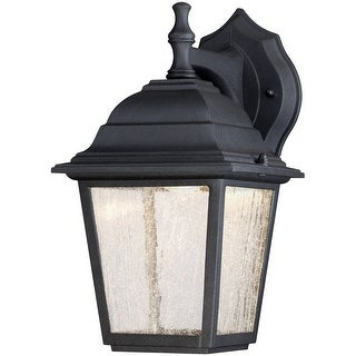 Westinghouse 64001 LED Wall Mount Lantern, Black