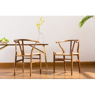Link to Porthos Home Qirin Wood Dining Chair, Kraft Rope And Beech Wood Similar Items in Living Room Chairs