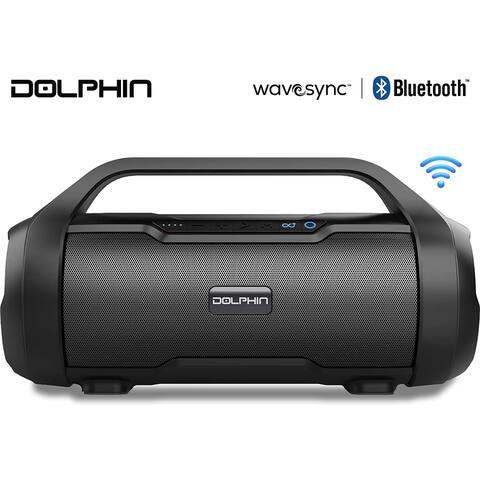 Dolphin LX-20 Dual Portable Bluetooth Waterproof Tube Speaker