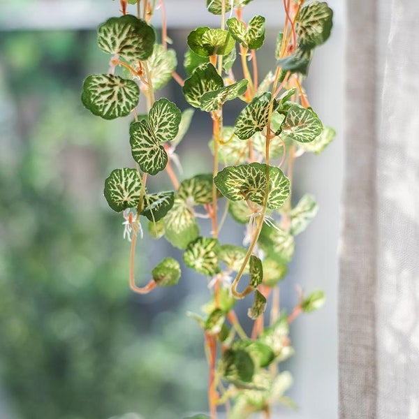 "RusticReach Begonia Leaf Hanging Vine 27"" Long"