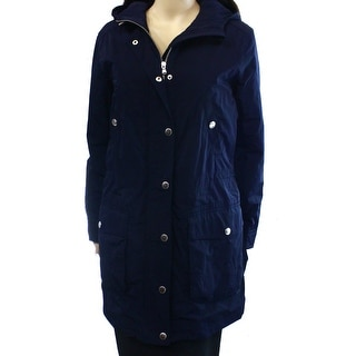 Lauren Ralph Lauren NEW Blue Women's Size Medium M Hooded Jacket