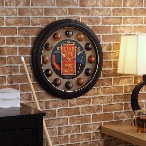 FirsTime & Co. Billiards Time Clock, Plastic